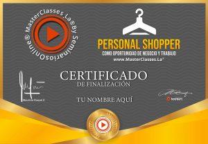 curso personal shopper online homologado y certificado