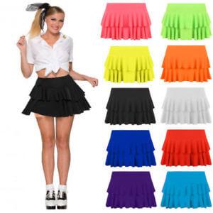 Colores llamativos en faldas