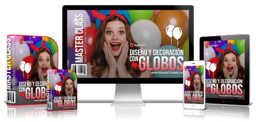 Curso Diseño y Decoración con Globos