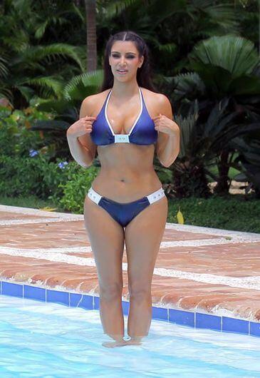 Kim Kardashian (endomorfo)