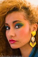 Maquillaje en la moda de los años 80