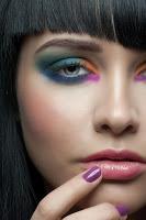 Maquillaje en mujeres años 80