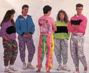 Pantalones en la moda de los 80