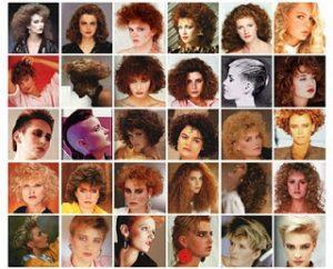 Peinados década de los 80