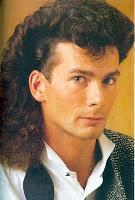 Peinados en hombres en la moda de los años 80