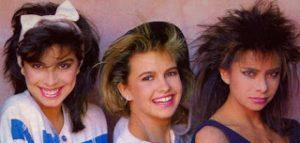 Peinados para mujeres en los 80