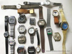 Relojes en los años 80