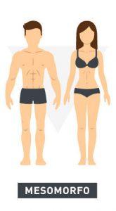Tipos de cuerpo mesomorfo