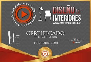 Curso diseño de interiores certificado