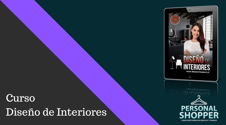 Curso Diseño de interiores de Diana Laura Méndez, Programa Online