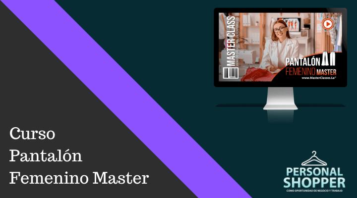 Opiniones del curso Pantalón Femenino Master de Irene Isabel